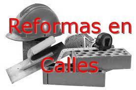 Reformas Valencia Calles